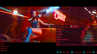 Cyberpunk 2077 detalha Modo Fotografia completo em novo vídeo