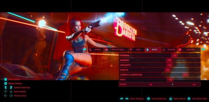 Modo Fotografia expande as possibilidades em Cyberpunk 2077 (Imagem: CD Projekt Red/Divulgação)