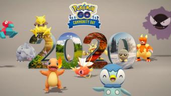 Pokémon Go terá vários Pokémon no Dia Comunitário de dezembro