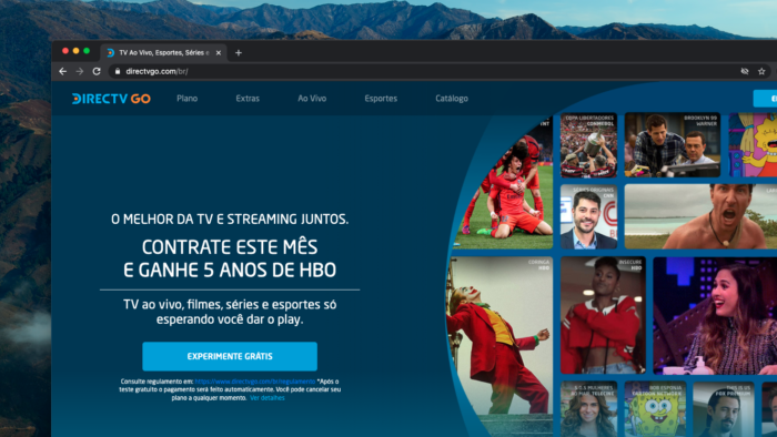 DirecTV Go (Imagem: Reprodução/DirecTV Go)