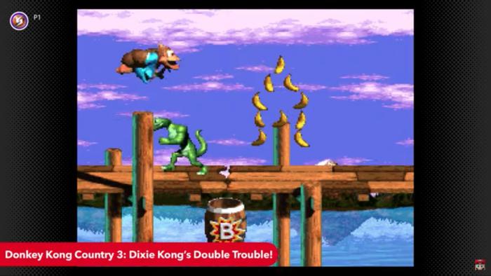 Donkey Kong Country 3: Dixie's Kong Quest Double Trouble (Imagem: Divulgação/Nintendo)