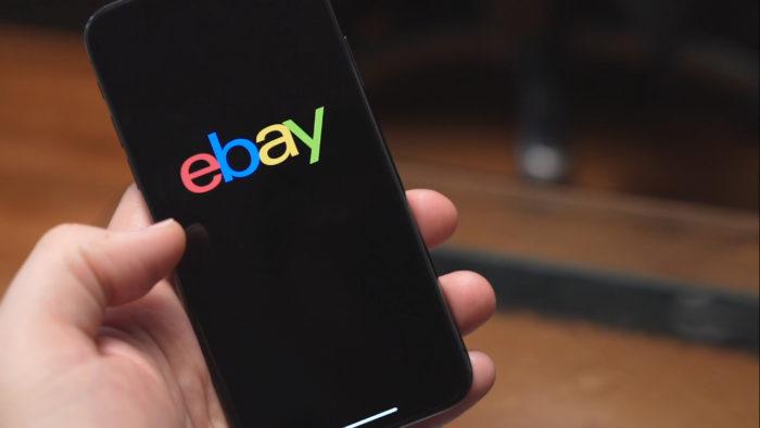 eBay no celular (Imagem: Divulgação/eBay)