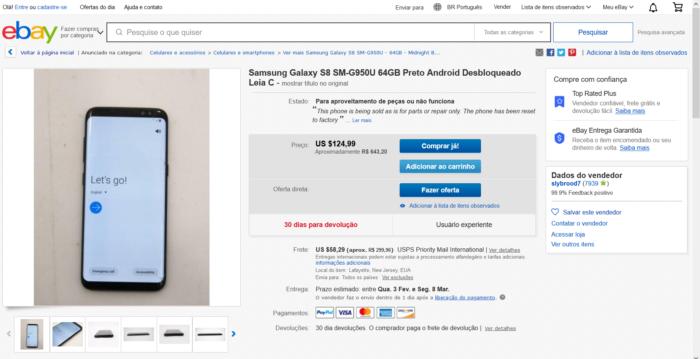 O que é eBay / Reprodução / eBay