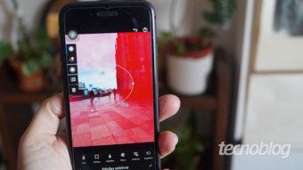 Como editar fotos no Lightroom pelo celular