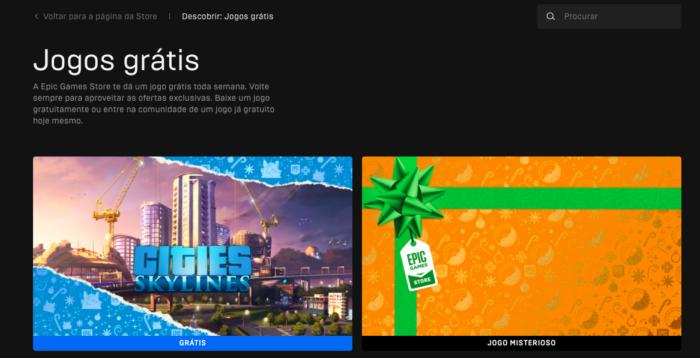 Cities: Skylines chega de graça na Epic Games Store (Imagem: Felipe Vinha/Tecnoblog)