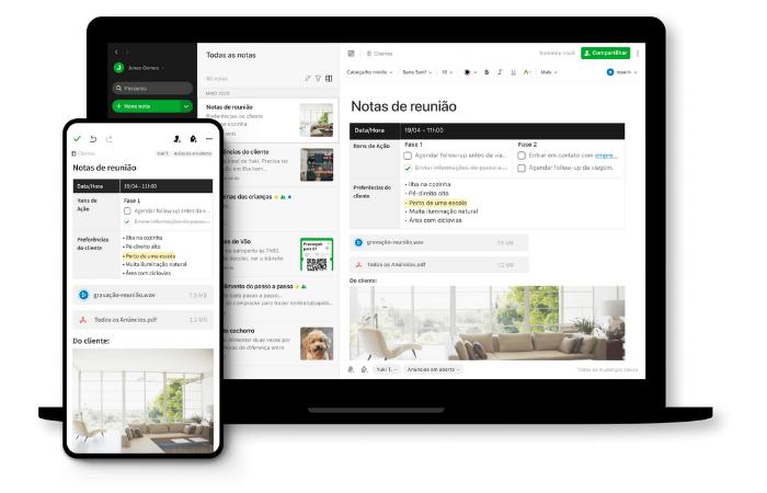 """Evernote é um dos melhores apps de """"to do"""" (Imagem: Reprodução/Evernote)"""