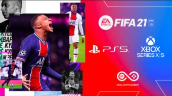 FIFA 21 chega ao PS5 e Xbox Series X e S com atualização grátis