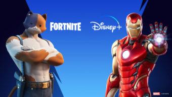 Fortnite exibe oferta de dois meses grátis de Disney+ no Brasil