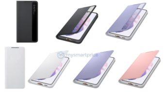 Capa oficial do Galaxy S21 Ultra tem espaço para S Pen