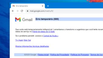 Google explica falha que derrubou Gmail, YouTube e mais