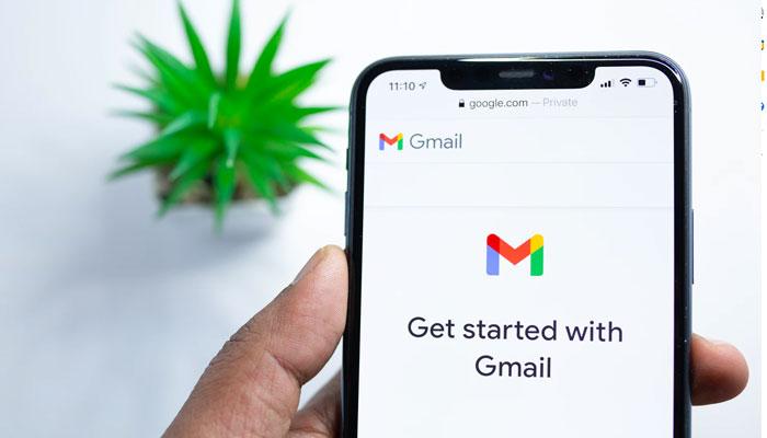 Iniciando o aplicativo Gmail