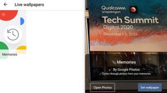 Google Fotos adiciona papel de parede dinâmico no Android