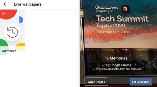 Google Fotos adiciona papel de parede dinâmico no Android | Aplicativos e Software | Tecnoblog