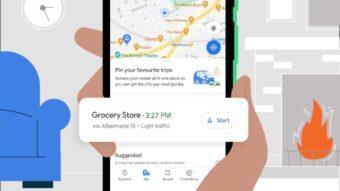 Google Maps ganha aba para fixar destinos e rotas frequentes