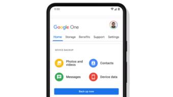 Backup by Google One vai unificar cópias de segurança no Android