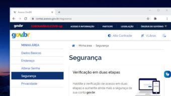 Gov.br adota autenticação de dois fatores para mais segurança