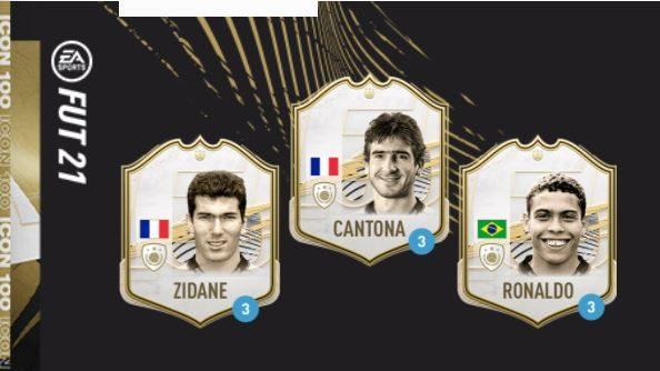 Cartas de ídolo do FIFA 21 (Imagem: Reprodução/ EA Sports)
