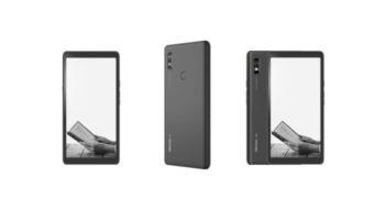 Hisense A7 5G com Android possui tela e-ink e bateria grande
