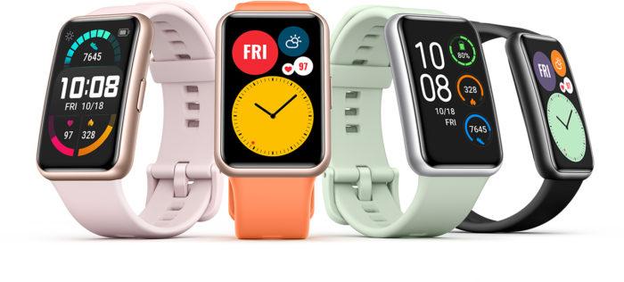 Huawei Watch Fit (Imagem: Divulgação/Huawei)