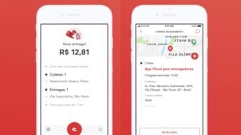 iFood encerra app de iPhone para entregadores após 8 meses