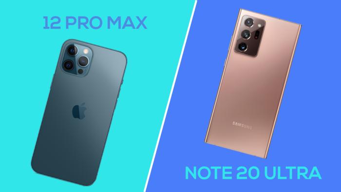 iPhone 12 Pro Max vs Galaxy Note 20 Ultra