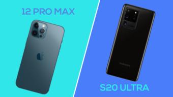 iPhone 12 Pro Max vs Galaxy S20 Ultra; qual é o melhor?