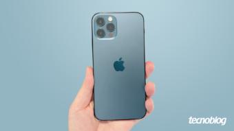 iPhone 12 Pro: distância reduzida