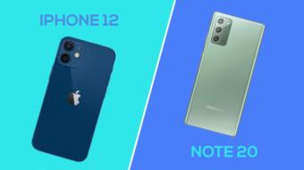 iPhone 12 vs Galaxy Note 20; qual é o melhor?