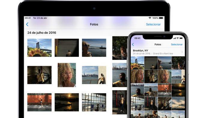Fotos do iCloud (Imagem: Divulgação/Apple)