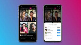 Instagram Live Rooms faz transmissão ao vivo de até 4 pessoas