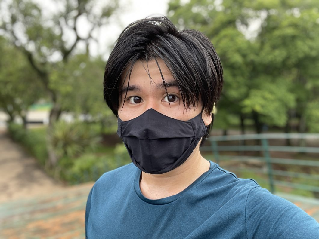 Photo taken with the front camera of the iPhone 12 Pro Max (Image: Paulo Higa / Tecnoblog)