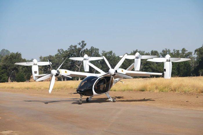Aeronave VTOL da Joby (imagem: divulgação/Joby Aviation)
