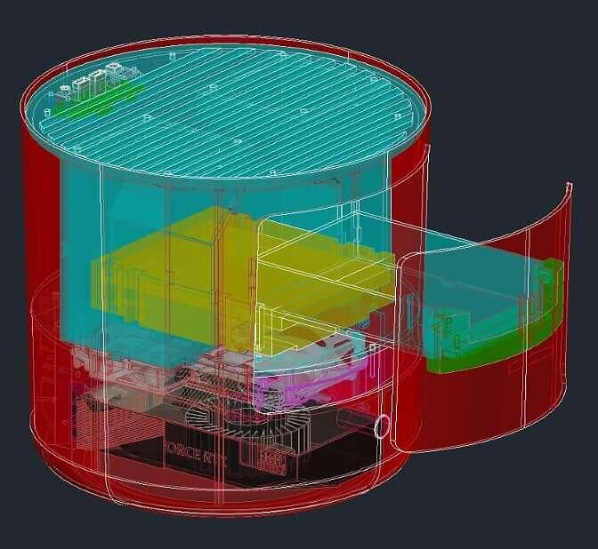KFConsole por dentro (Imagem: divulgação/Cooler Master)