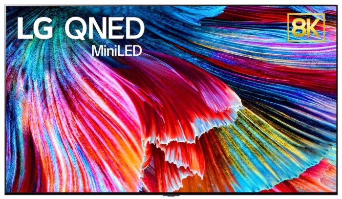 LG QNED 8K utiliza painel Mini-LED (Imagem: divulgação/LG)