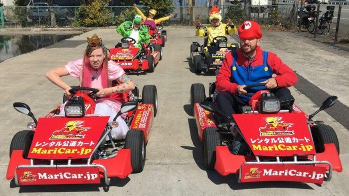 Mario Kart de rua é penalizado pela Nintendo (Imagem: Reprodução/MariCar)