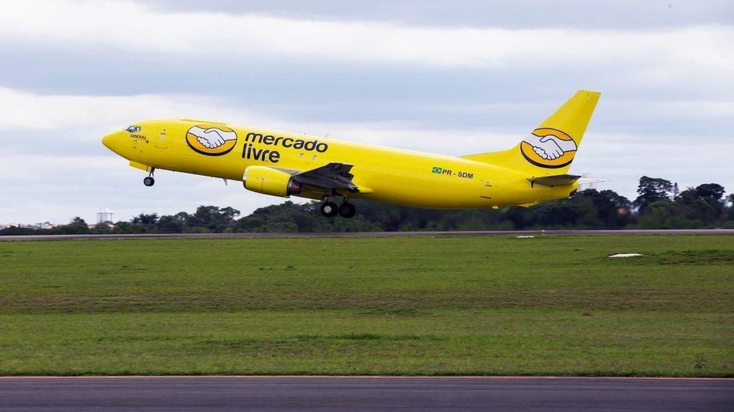 Mercado Livre passou a ter frota própria de aviões para entregas (Imagem: Divulgação/Mercado Livre)