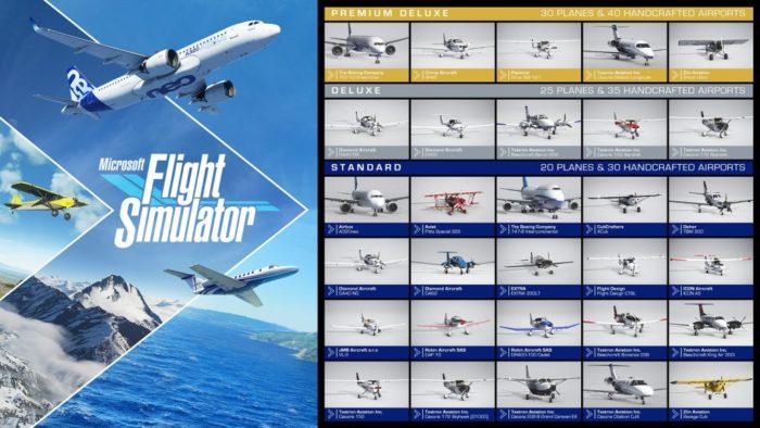 Aviões de Microsoft Flight Simulator (Imagem: Asobo Studio/Xbox Game Studios)