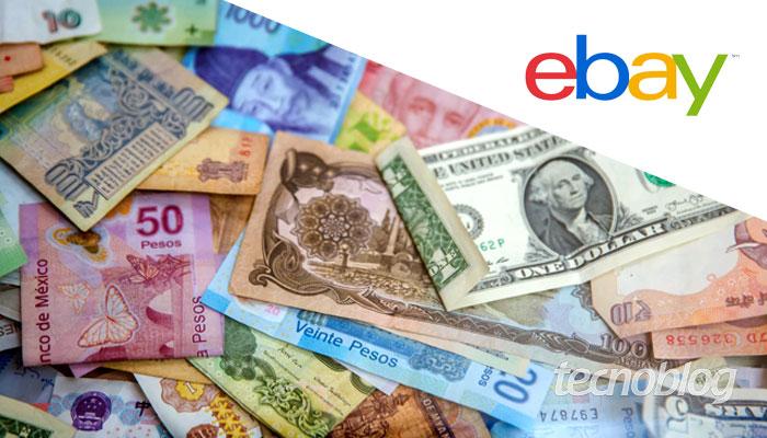 Como mudar moeda no eBay