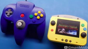 Nintendo 64 ganha versão portátil a partir do console oficial