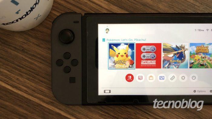 Nintendo Switch (Imagem: Lucas Lima/Tecnoblog)