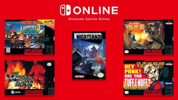 Jogos do Nintendo Switch Online em dezembro (Imagem: Divulgação/Nintendo)