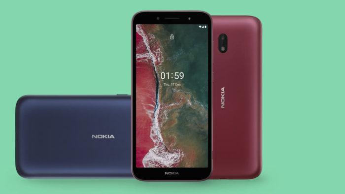 Nokia C1 Plus (Imagem: Divulgação/HMD Global)