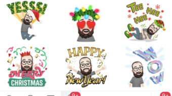 Facebook ganha novos avatares para Natal e Ano Novo no Brasil