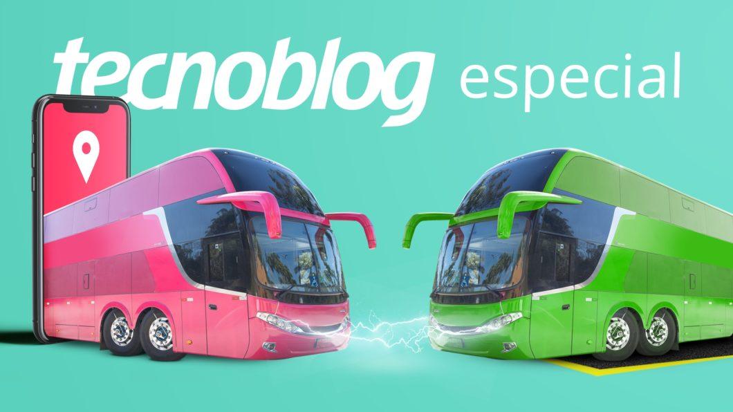 Ônibus por app (imagem: Vitor Pádua/Tecnoblog)