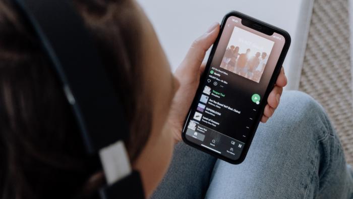 Playlist no Spotify