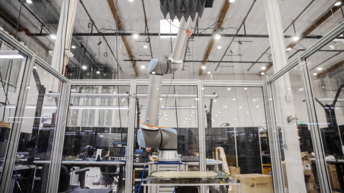 Protótipo de antena do Projeto Kuiper