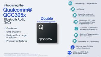 Qualcomm lança chip para fones Bluetooth com autonomia maior