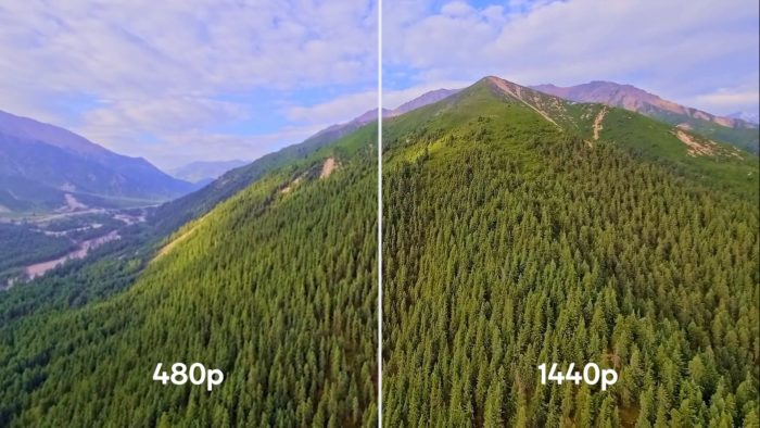 Qualcomm Snapdragon 888 5G in video upscaling (Image: Press Release / Qualcomm)