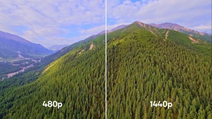 Qualcomm Snapdragon 888 5G em upscaling de vídeos (Imagem: Divulgação/Qualcomm)