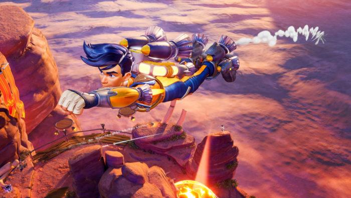 Rocket Arena (Imagem: Divulgação/Final Strike Games/Electronic Arts)